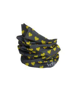 KrFU multiheadwear grå - pakke á 10 stk